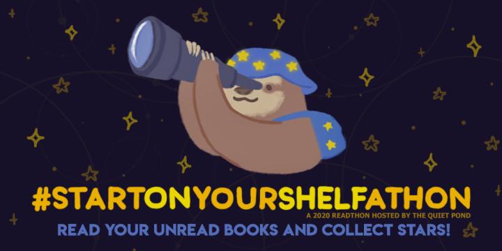#StartOnYourShelfAthon: January