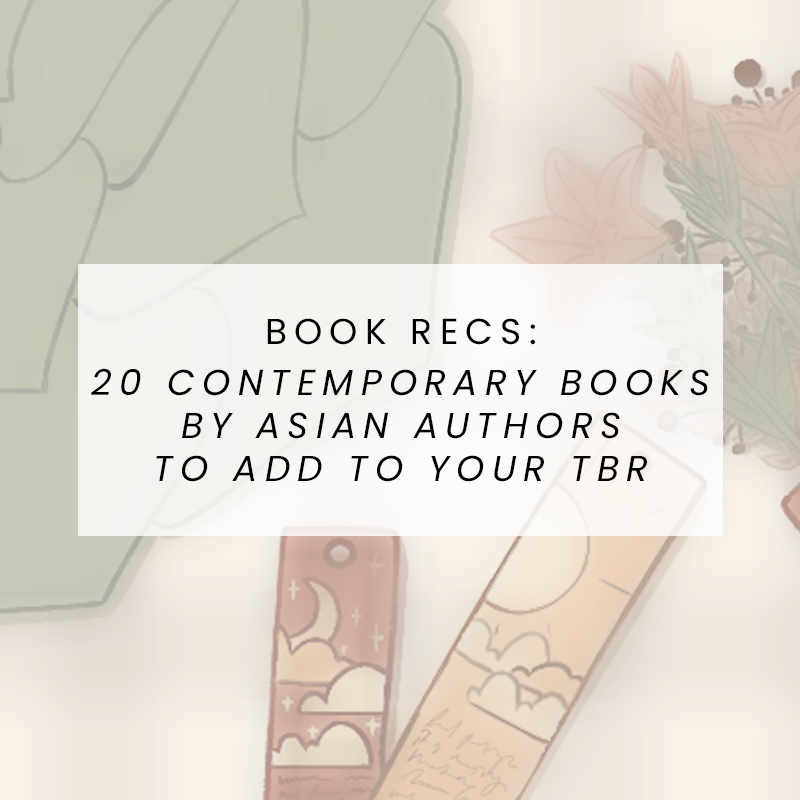 20 Contemporary Books by Asian Authors to Add to Your TBR